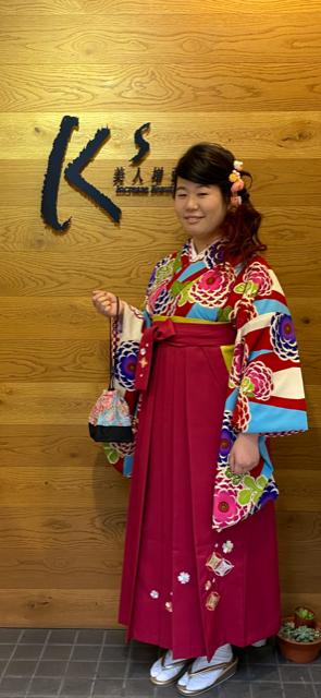 袴 着付け セット/東大阪・布施 美容室 K's(ケーズ)美人増強計画
